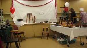 My booth at the Crafts Center Fair in 2011