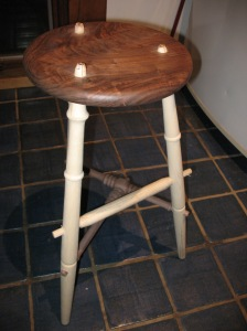 Guitar Picker's Stool dry fitted