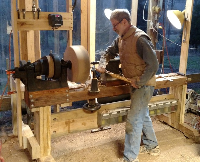 New-old lathe
