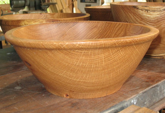 Sanded bowl for Drew