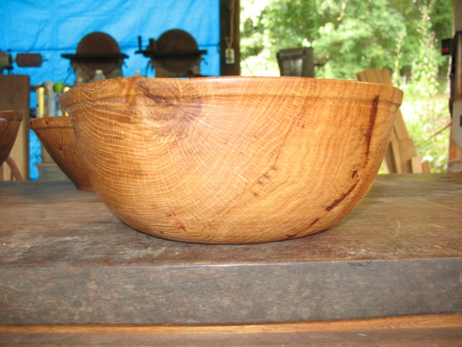Unsanded bowl for Drew
