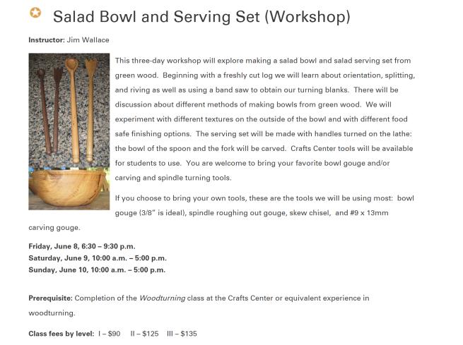 bowl workshop notice